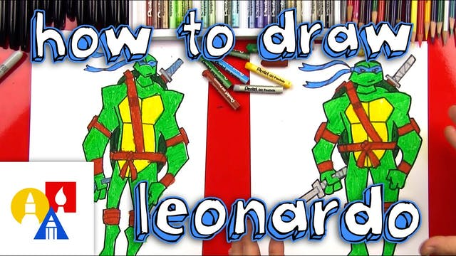 How To Draw A Teenage Mutant Ninja Tu...