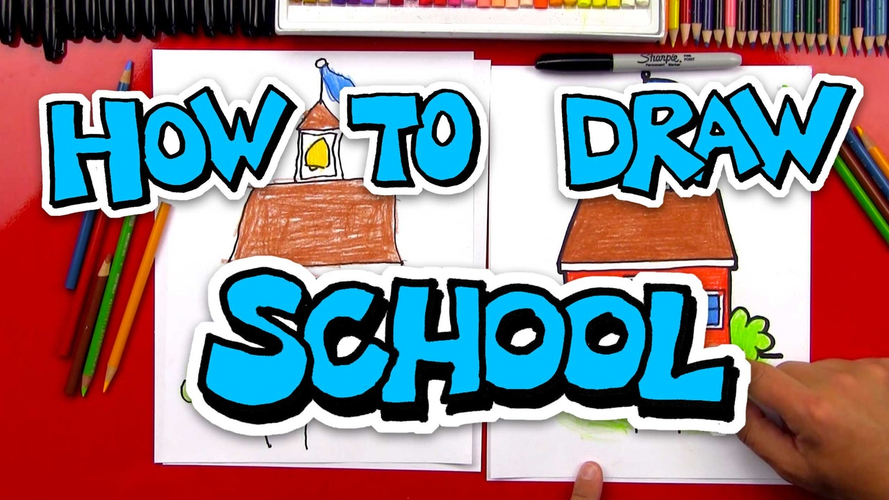 How To Draw School Stuff