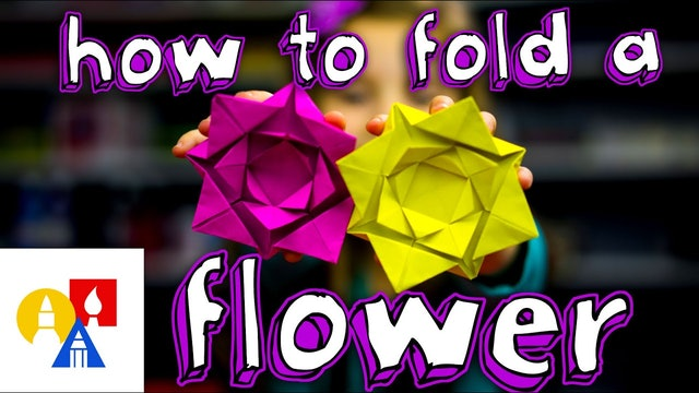 How To Fold A Flower