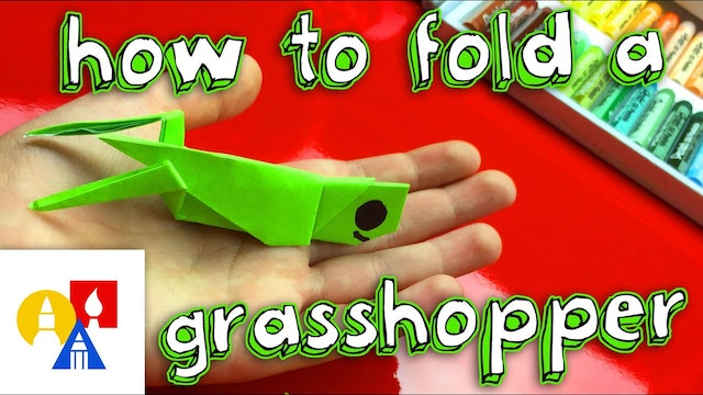 How To Fold An Origami Grasshopper
