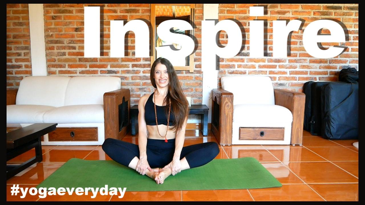 Inspire! Monthly Yoga Playlist