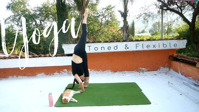 Toned & Flexible with Standing Splits