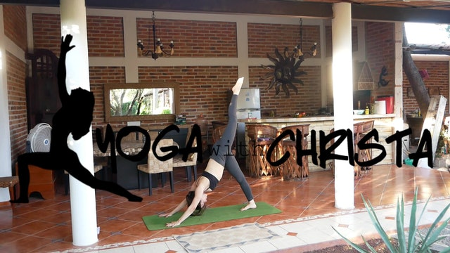 Yoga for Hips & Hamstrings Advance to Bird of Paradise Pose | Yoga with Christa