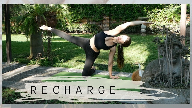 RECHARGE | 35 Minute Yoga Class | Intermediate
