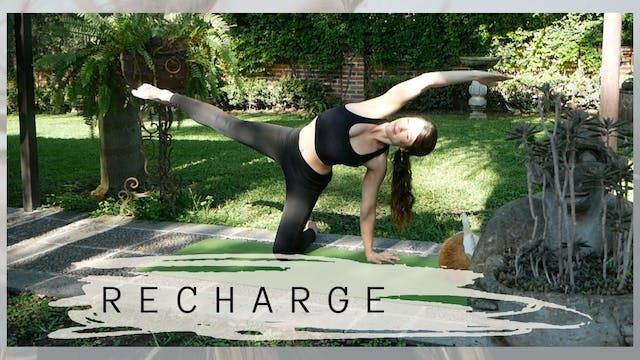 RECHARGE | 35 Minute Yoga Class | Int...