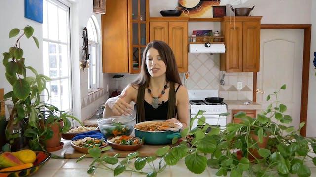 Tomato & Zucchini Lentil Stew | Vegan...