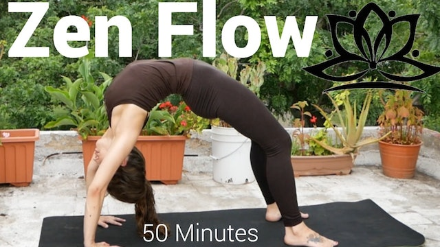 Full Body Zen Flow with Christa - 50 Minutes