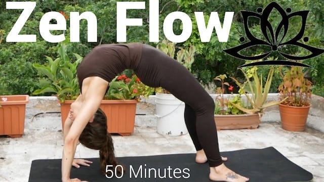 Full Body Zen Flow with Christa - 50 Minutes