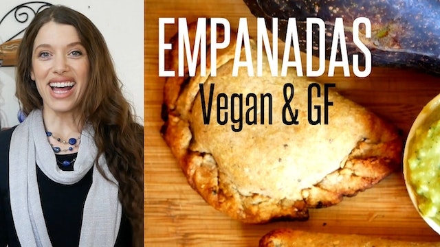 How to Make Empanadas 2 Ways - #Vegan, Gluten-Free & Delicious!