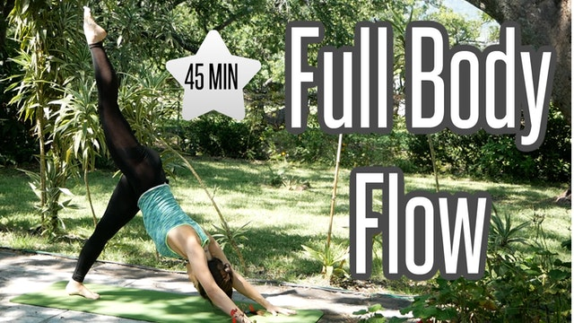 Full Body 45 Min Flow with Balancing ...