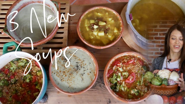 Warm Your Body & Soul with 3 New Soup...