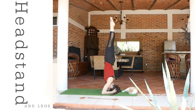Yoga for Legs + Headstand Practice - ...