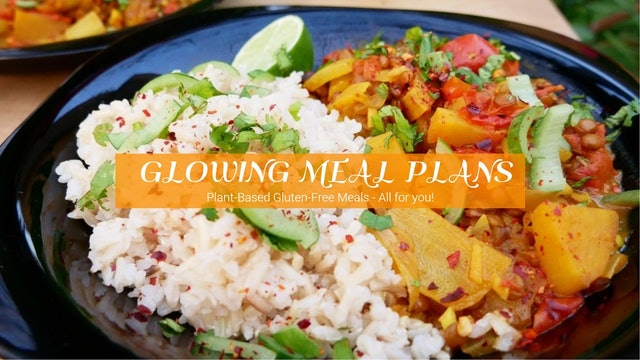 Glowing Meal Plans with ArtisticVegan.com Season 1
