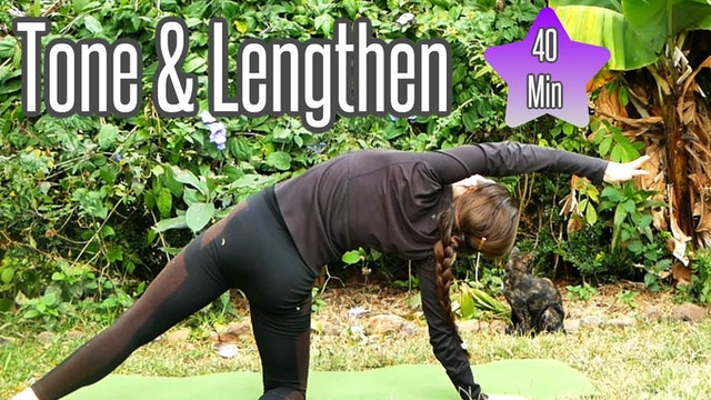 Tone & Lengthen - Lean Yoga Body (40 Min.) Intermediate