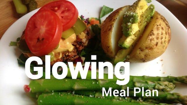Glowing Meal Plan - Breakfast, Lunch & Dinner - S1E1