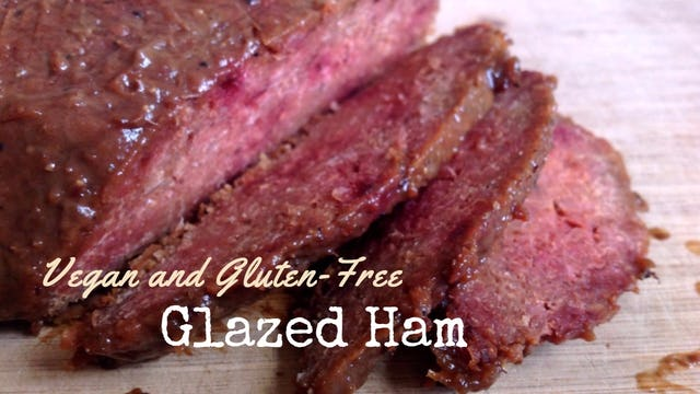 GLAZED HAM RECIPE - #VEGAN & #GF - Amazing Christmas Roast - Artistic Vegan