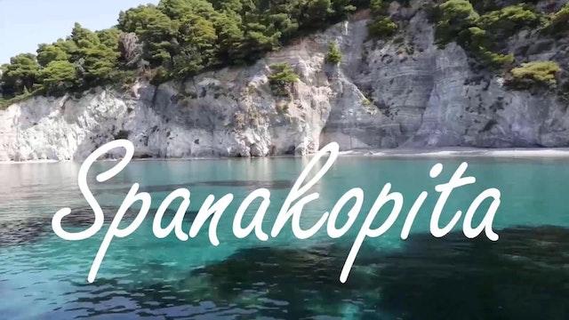 Spanakopita w/Homemade Phyllo Dough -...