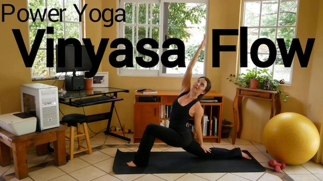 Power Yoga Vinyasa Flow with Christa - 40 Minutes