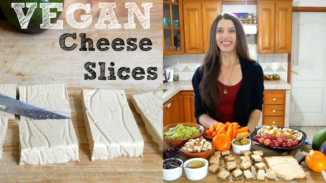 VEGAN Cheese Slices - Easy & Delicious with 7 Ingredients