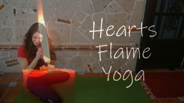 Stop Drop Reset - Intermediate Flow - 30 Minutes - Hearts Flame Yoga