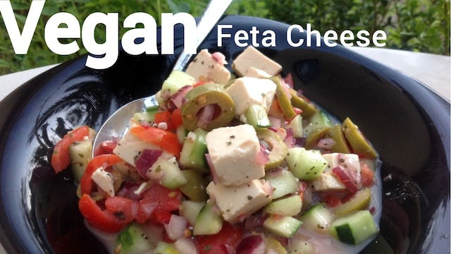 VEGAN Feta Cheese - 2 Ways // Plantbased, Oil-Free & Gluten-Free