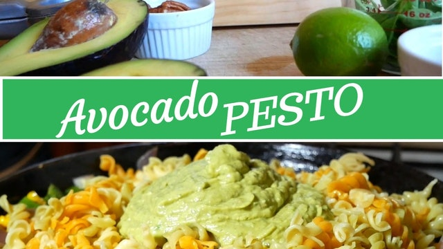 Avocado Pesto Recipe | Gluten-Free, Oil-Free, Vegan