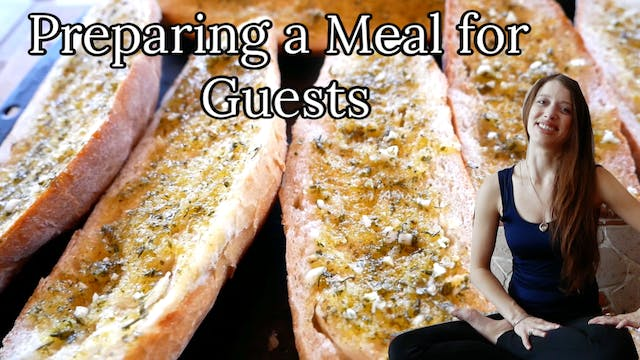 Preparing a Meal for Guests (Without ...