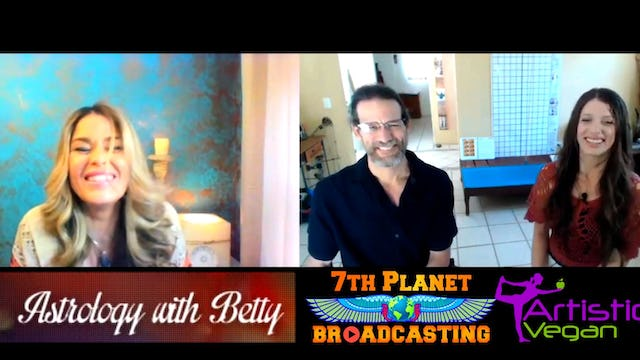 Join Gerald and Christa Clark with Astrology with Betty!
