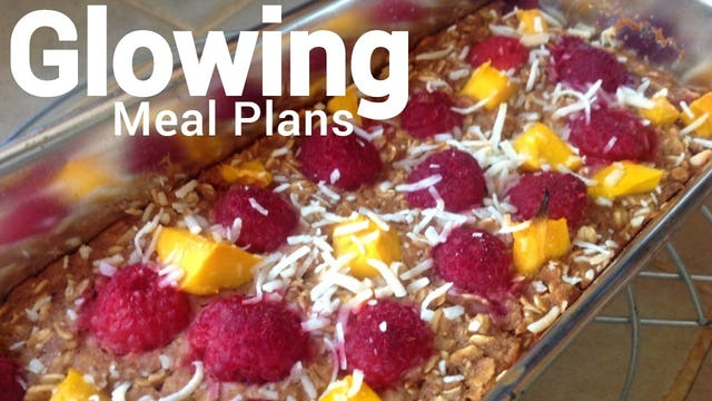 Glowing Meal Plans