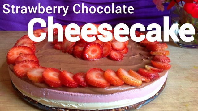Strawberry Cheesecake with Chocolate ...