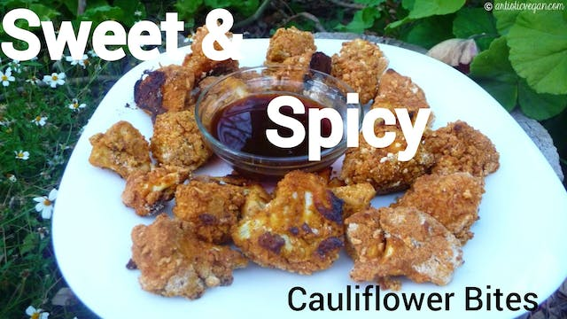 Sweet & Spicy Cauliflower Bites | Glu...