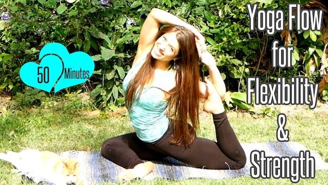 Yoga Flow for Flexibility & Strength - 50 Min - Intermediate