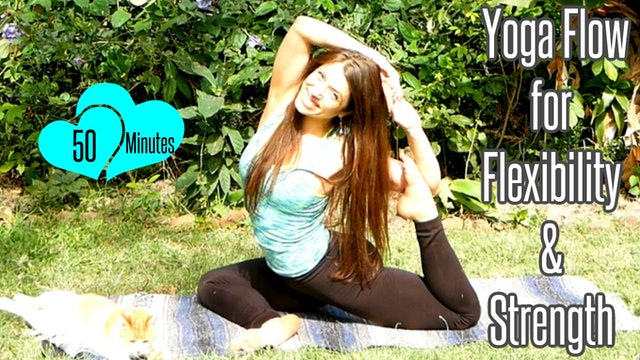 Yoga Flow for Flexibility & Strength - 50 Minutes