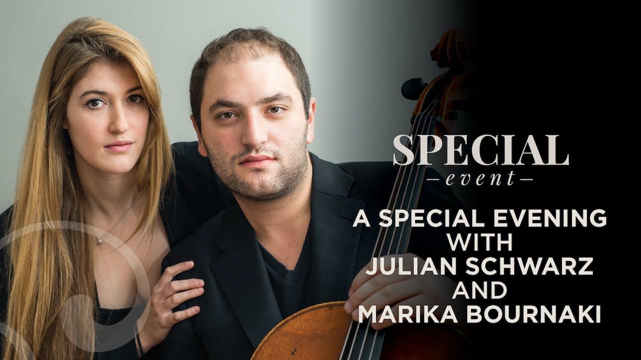 RENT: Julian Schwarz & Marika Bournaki Recital