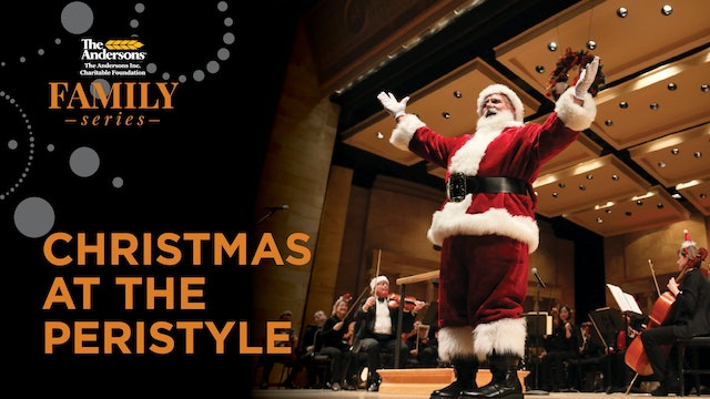 Christmas at the Peristyle: Watch Dec. 6, 3PM ET