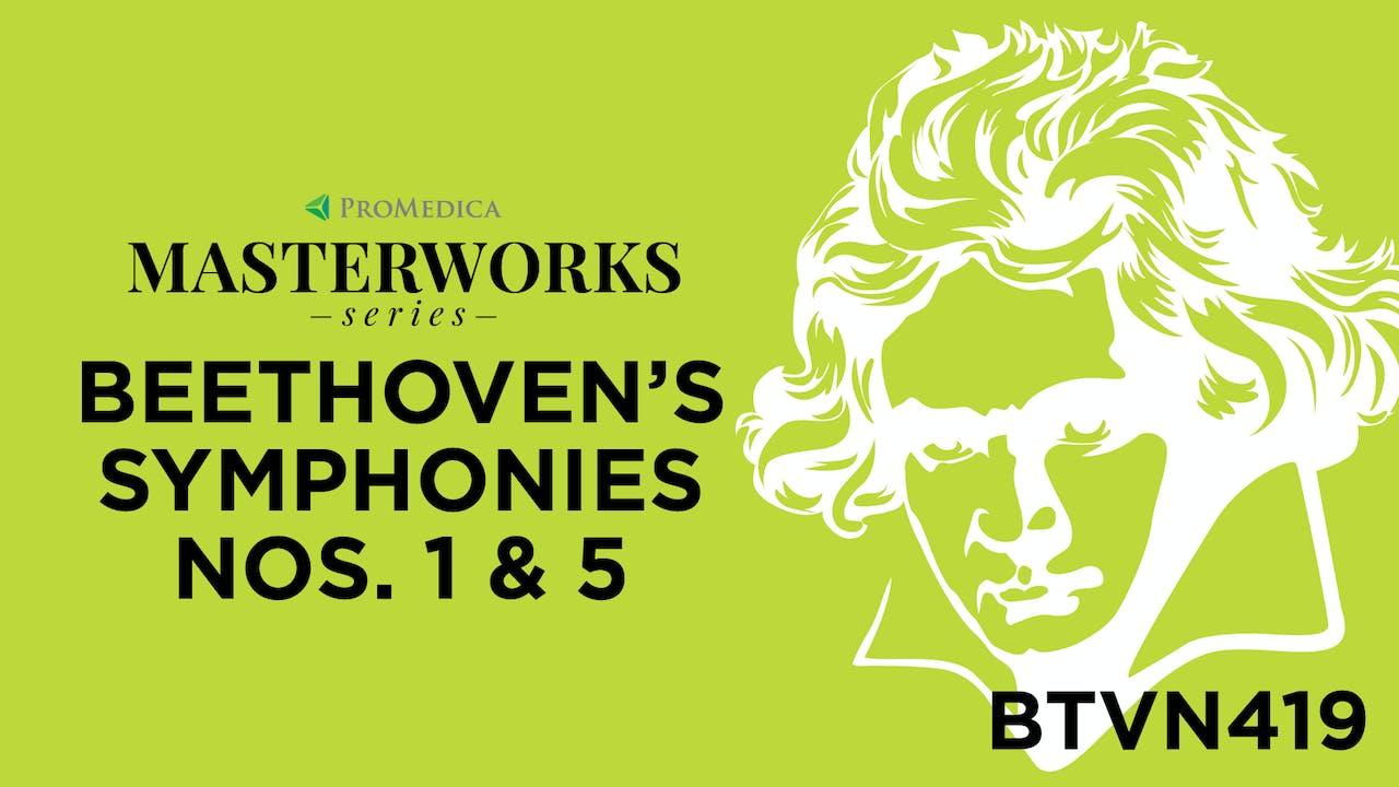 Beethoven's Symphonies: WATCH LIVE Nov. 21, 8PM ET