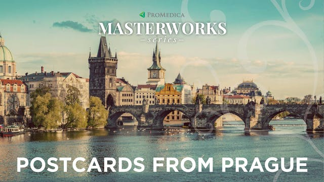 WATCH LIVE: Postcards from Prague, Feb. 19, 8PM ET