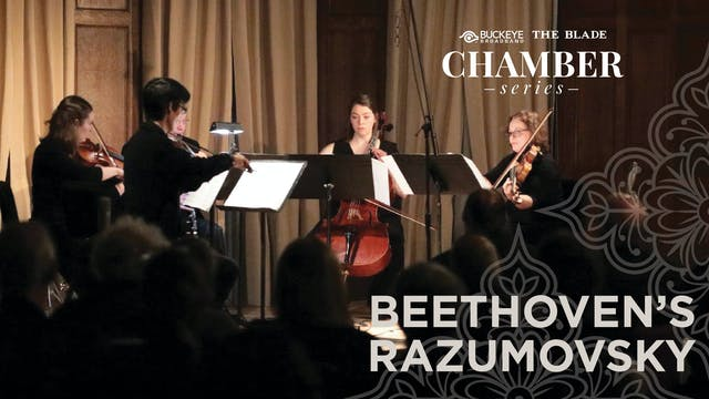 WATCH LIVE: Beethoven's Razumovsky, May 9, 7PM ET