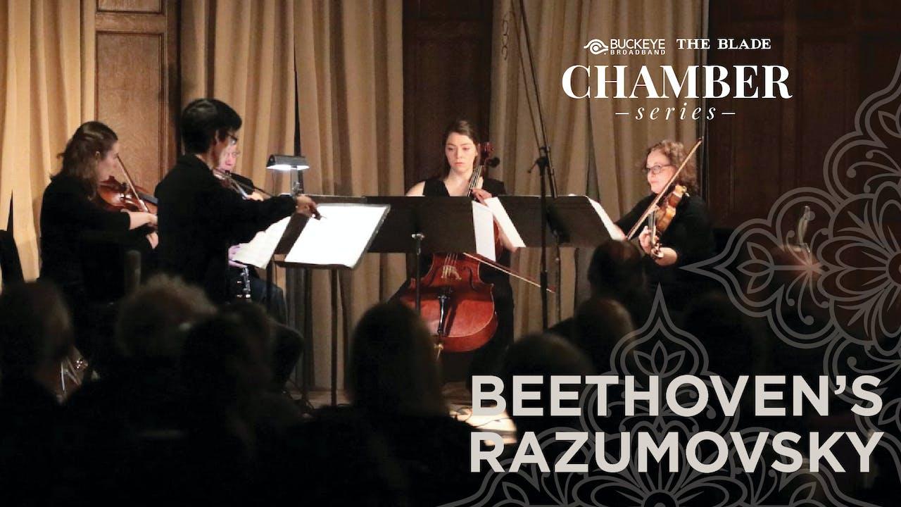 WATCH LIVE: Beethoven's Razumovsky, May 9, 7PM ET