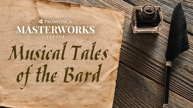 WATCH LIVE: Musical Tales of the Bard