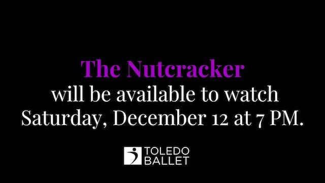 Toledo Ballet's 80th Nutcracker: Dec. 12 7 PM