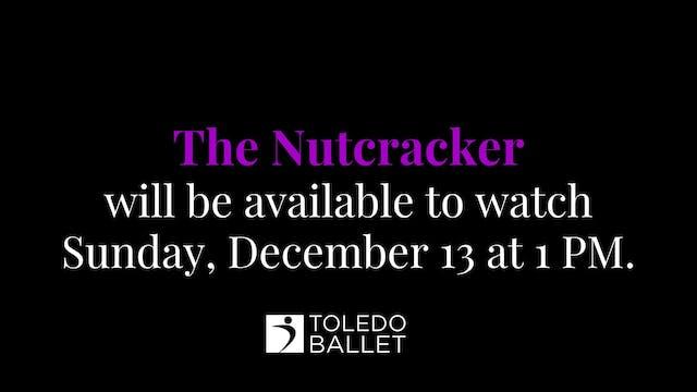 Toledo Ballet's 80th Nutcracker: Dec. 13 1 PM