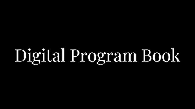 Digital Program Book