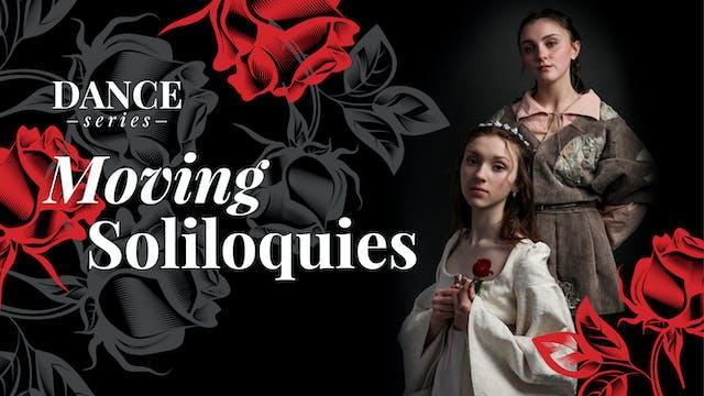 WATCH LIVE: Moving Soliloquies, Apr. 25, 7PM ET