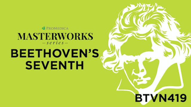 Beethoven's Seventh: WATCH LIVE Sept. 26, 8PM ET