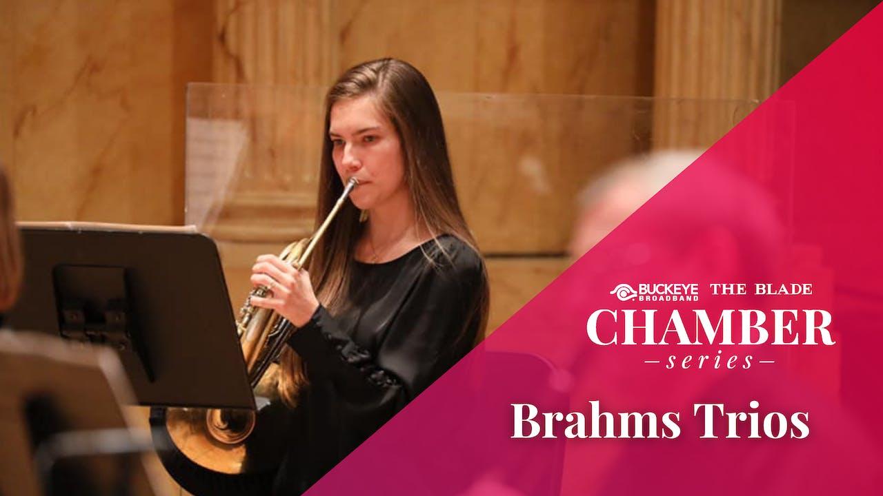 LIVE Apr. 10: Brahms Trios