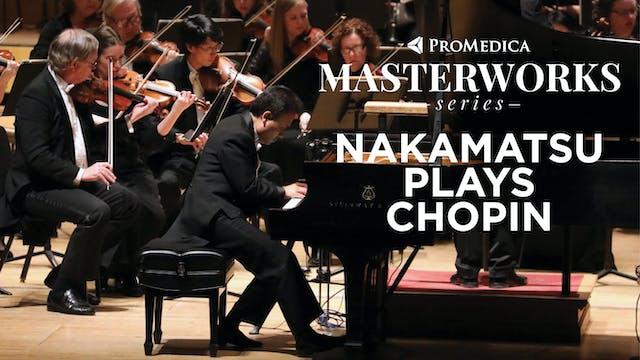 WATCH LIVE: Nakamatsu Plays Chopin, M...