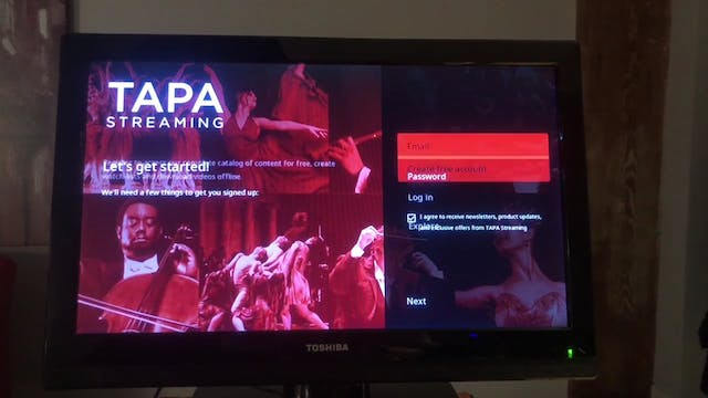 Download TAPA Streaming on Roku