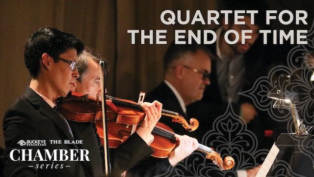 Quartet for the End of Time:  LIVE Nov. 1 7PM ET