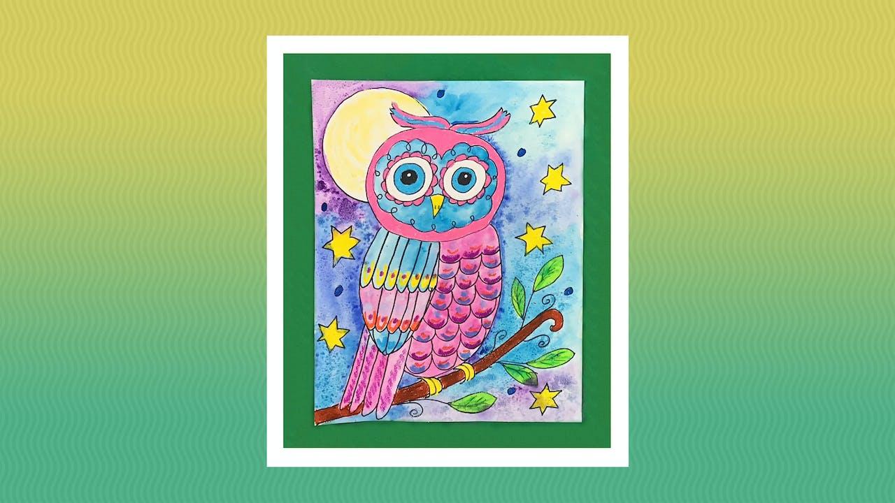 Fantasy Owl - Grades K-2